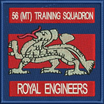 56 MT TRAINING SQN EMBROIDERED BADGE